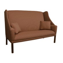 Sofa with Chippendale Leg