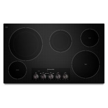 """36"""" Electric Cooktop with 5 Radiant Elements - Black"""