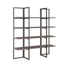 "Bookshelf 60"" W/4 Shelves Rta"