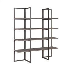 "Bookshelf 60"" W/4 Shelves Rta"