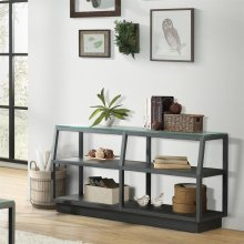 Kali - Console Table - Textured Black Finish