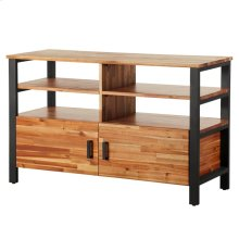 Zachary Media Console, Natural