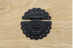 "Black 6"" Furniture Hasp 450570 Product Image"