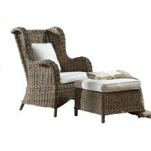 Exuma 2 PC Occasional Chair Set w/beige cushion