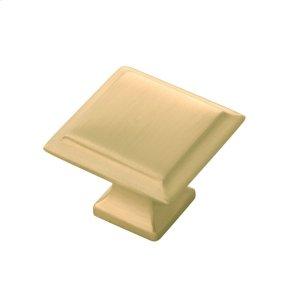 1-1/4 In. Studio II Knob - Satin Brass Product Image
