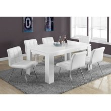 """DINING TABLE - 36""""X 60"""" / WHITE"""