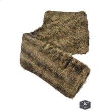 NAVAJO THROW- GRAY MULTI  Faux Fur