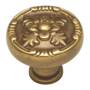 Richelieu Knob - Sherwood Antique Brass Product Image