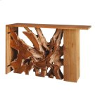 Lennox Teak Wood Console Table, Natural Product Image