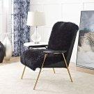 Sprint Sheepskin Armchair in Black Black Product Image
