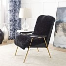 Sprint Sheepskin Armchair in Black Black Product Image