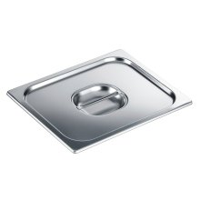DGD 1/2 Stainless steel lid with handle for steam oven pan