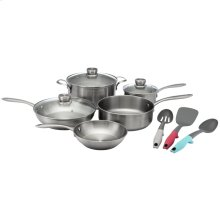 Frigidaire ReadyCook 11 Piece Cookware and Utensil Set