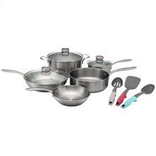 Frigidaire ReadyCook 11 Piece Cookware and Utensil Set