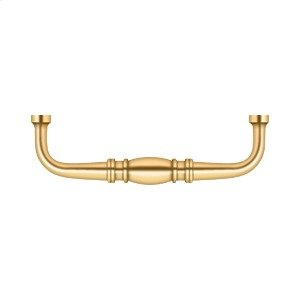 "Colonial Wire Pull, 4"" - PVD Polished Brass Product Image"