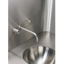 Build-in basin mixer with on-off sensor for hands free operation - Grey