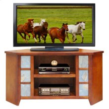 Laredo Creek 49inch Corner TV Cart
