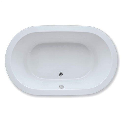"Easy-Clean High Gloss Acrylic Surface, Oval, MicroSilk® Bathtub, Premiere Package, 42"" X 72"""