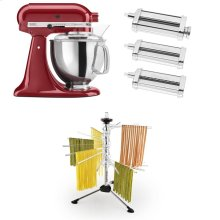 Exclusive Artisan® Series Stand Mixer & Pasta Attachments Set - Empire Red