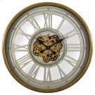 Pewter Gear Clock Product Image