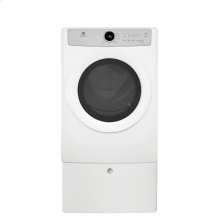 Front Load Electric Dryer with 5 cycles - 8.0 Cu. Ft., Scratch & Dent