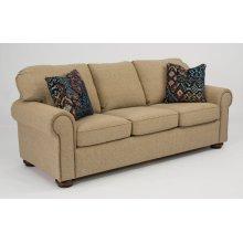 Preston Fabric Sofa with Nailhead Trim