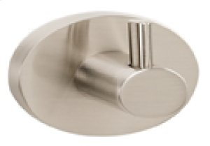 Contemporary III Robe Hook A7680 - Unlacquered Brass Product Image