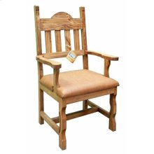 Vinyl Plain Arm Chair