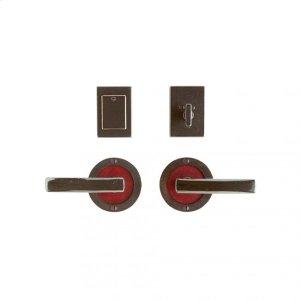 """Round Designer Entry Set - 3 1/2"""" Silicon Bronze Brushed with Basic Product Image"""