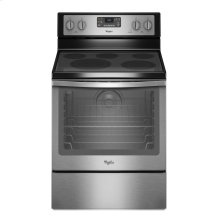 6.4 Cu. Ft. Freestanding Electric Range with AquaLift® Self-Cleaning Technology. CLOSEOUT