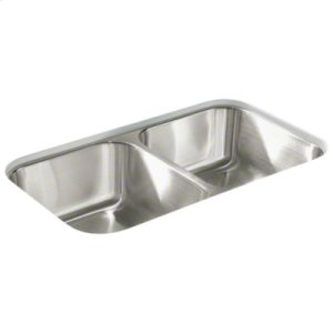 McAllister® Undercounter Double-basin Kitchen Sink Product Image