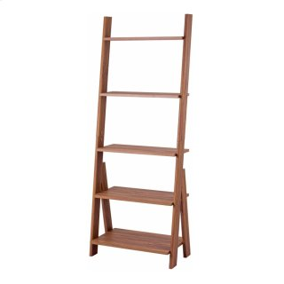 """Reeve 25"""" KD Stair Shelf, Walnut (ASSEMBLY REQUIRED)"""