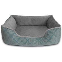 Comfy Pooch Damask Flocked Pet Bed HD83-309