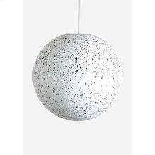 Luna decorative fiber pendant - Large..(22X22X22)..