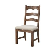 Chambers Bay - Side Chair Slat Back Upholstered Seat (Set of 2)