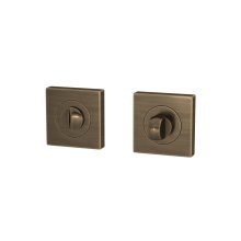 Snib Turn & Release Sets In Fine Antique Brass