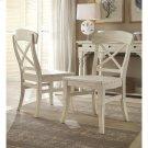 Regan - X-back Side Chair - Farmhouse White Finish Product Image
