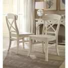 Regan - X-back Side Chair - Farmhouse White Finish Product Image