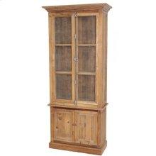 Pine Wire Door Tall Cabinet
