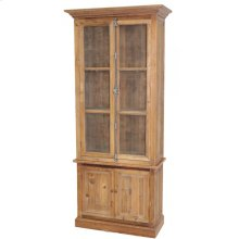 Pine Wire Door Tall Cabinet