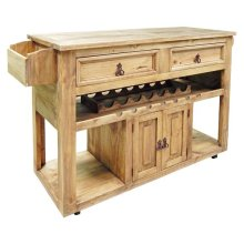 Kitchen Wine Cart