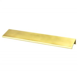 Bravo 169mm CC Satin Gold Edge Pull Product Image