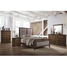 1040 Carlton Queen Bed with Dresser & Mirror