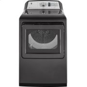 GE® 7.4 cu. ft. Capacity Smart aluminized alloy drum Electric Dryer with HE Sensor Dry Product Image