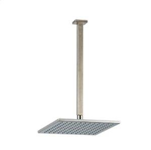 "10"" Shower Rainhead Ceiling Mount 14"" Arm - Brushed Nickel Product Image"
