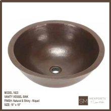 1623 Vanity Vessel Sink