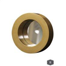 CANE MIRROR- GOLD  Gold Finish on Wood Frame  Plain Glass Beveled Mirror