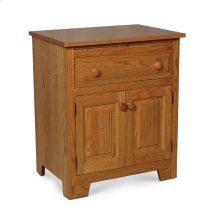 Homestead Deluxe Nightstand with Doors