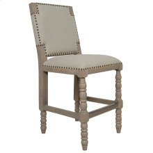 30'' Bar Stool, Available in Coastal Brown or Coastal Grey Finish.