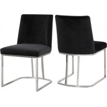 """Heidi Velvet Dining Chair - 19"""" W x 23"""" D x 32"""" H"""